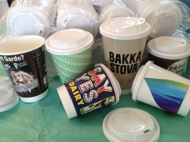 Printed Coffee Cups