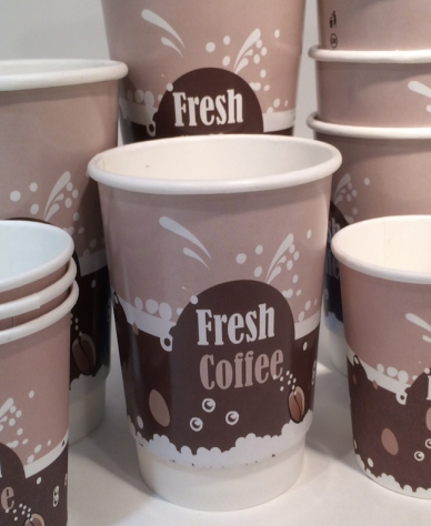 7oz Vending Cups - Printed Paper Cups